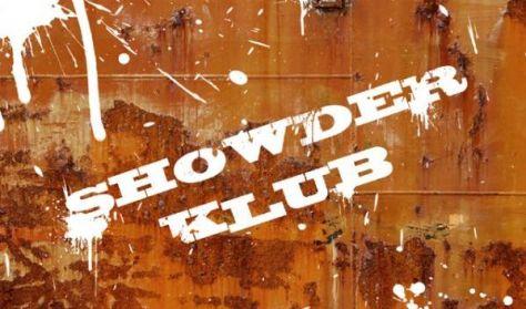 SHOWDER KLUB felvétel - Aranyosi Péter, Dombóvári István, Felméri Péter