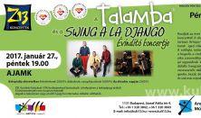 PénteK13-Z13 - A Talamba és a Swing a la Django Évindító koncertje