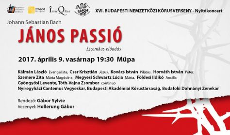 Budapesti Nemzetközi Kórusverseny, Budafoki Dohnányi Zenekar Vez. Hollerung G. Bach: János passió