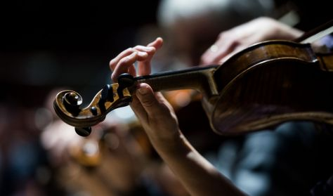 Kamarazene korhű hangszereken