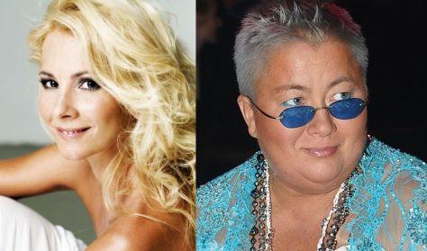 Kék rapszódia - Horgas Eszter és Falusi Mariann - zenés színpadi előadás