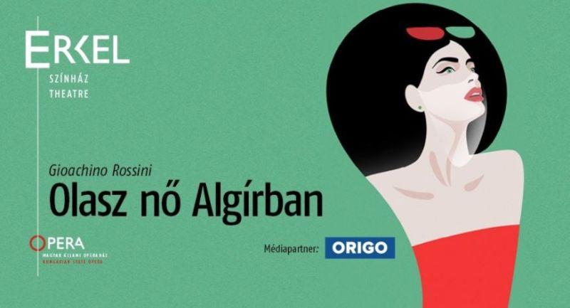 Olasz nő Algírban