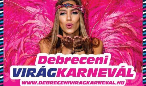 Debreceni Virágkarnevál - Krones fedett lelátó - Egyetem tér