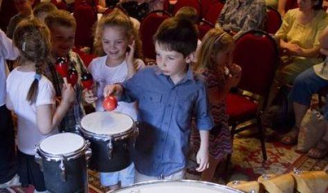 Csengő-bongó délután - hegedű, brácsa, cselló, nagybőgő
