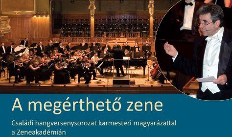Budafoki Dohnányi Ernő Zenekar, A megérthető zene, Dubrovay, Balázs János - zongora