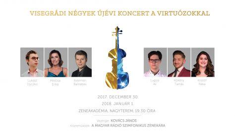 Visegrádi Négyek Újévi Koncert a Virtuózokkal