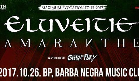 Eluveitie és Amaranthe - Maximum Evocation Tour 2017