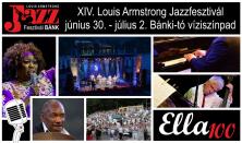 XIV. Louis Armstrong Jazzfesztivál / Pénteki napijegy – június 30.