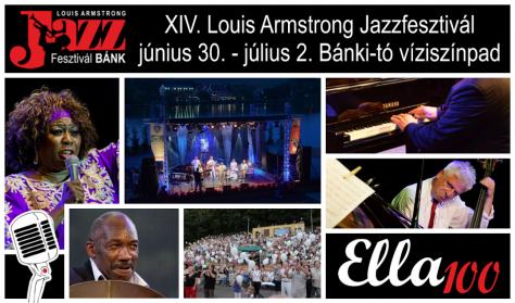 XIV. Louis Armstrong Jazzfesztivál / Szombati napijegy – július 1.