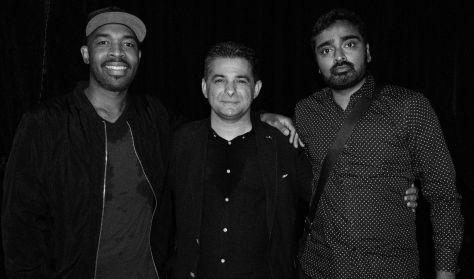Lukács Miklós, Eric Harland és Harish Raghavan koncertje / CAFe 2017