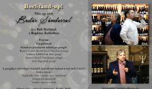 Bor Stand-up -Tölts egy estét Badár Sándorral