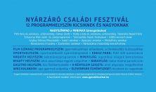 GyereKi! Nyárzáró Családi Fesztivál