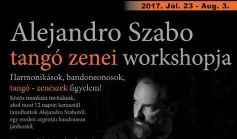 Alejandro Szabo zenei workshopja tangó-zenészeknek