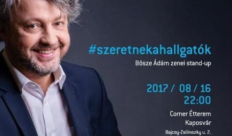 Bősze Ádám zenei stand up