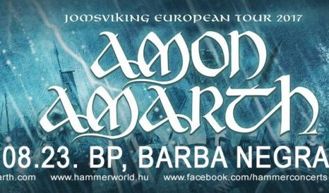 AMON AMARTH - Jomsviking European Tour 2017