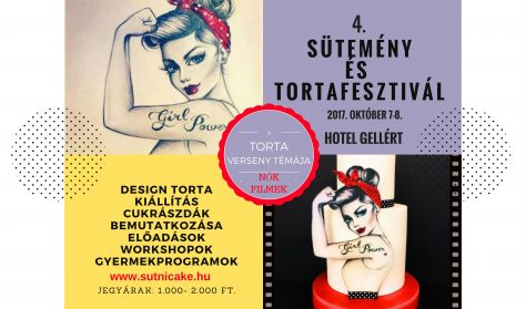 4. Sütnicake, Sütemény és Tortafesztivál / Napijegy szombat