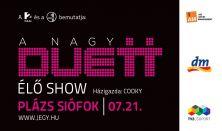 A Nagy Duett élő show / koncert a TV2 szuperprodukciójának sztárjaival