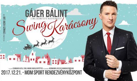 """Gájer Bálint """"Swing karácsony"""" lemezbemutató"""