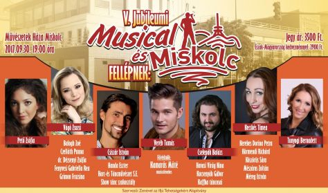Musical és Miskolc 2017 gálaest