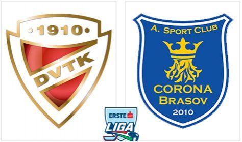 DVTK Jegesmedvék - ASC Corona 2010 Brasov