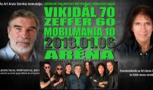 Vikidál70 & Zeffer60 & MOBILMÁNIA10 - JUBILEUMI KONCERT
