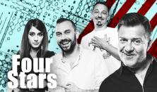 FOUR STARS - Benk, Csenki, Hadházi, Kormos, vendég: Szabó Balázs Máté