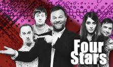 FOUR STARS - Aranyosi, Hajdú, Kormos, Szomszédnéni, vendég: Elek Péter