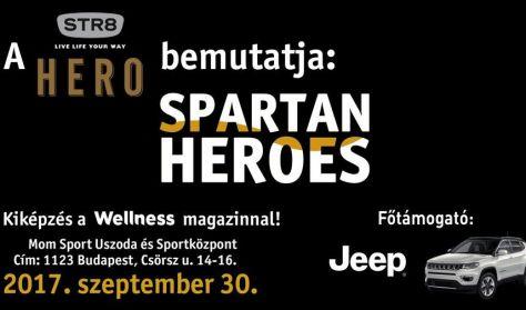 Spartan Heroes - kiképzés a Wellness magazinnal!