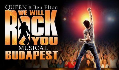 WE WILL ROCK YOU - QUEEN - BEN ELTON MUSICAL