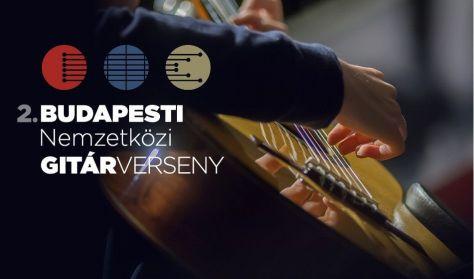 Budapesti Nemzetközi Gitárverseny 2. forduló / Budapest International Guitar Competition 2nd stage