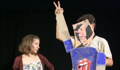 """Kövér Béla Bábszínház: """"HER-BÁL""""MEGHÍVÓ - Tantermi Színházi Szemle"""