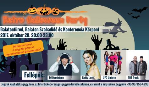 Retro Halloween Party