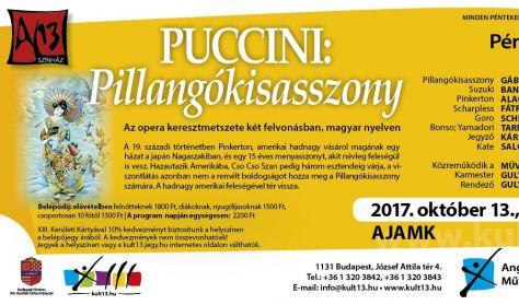 PénteK13 – Puccini – Pillangókisasszony