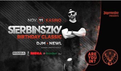 Sterbinszky Birthday Classic 11.11 Kasino