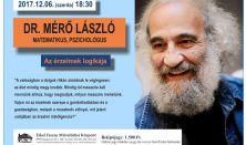 """""""Az érzelmek logikája"""" - Dr. Mérő László matematikus, pszichológus előadása"""