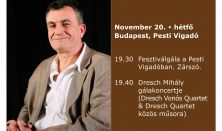 Héttorony Fesztivál gálakoncertje - Dresch Mihály – Nagykoncert