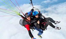 Siklóernyős Tandem Repülés (Csörlőpályán)