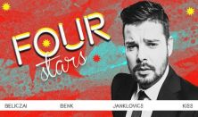 FOUR STARS - Beliczai, Benk, Janklovics, Kiss, vendég: Musimbe Dávid Dennis