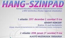 Alkotó Muzsikusok Társasága HANG-SZÍNPAD bérlet 2. ea.