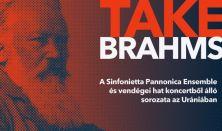 Take Brahms – 6. hangverseny: Hegedű szonáta, Csellószonáták és dal-átíratok csellóra