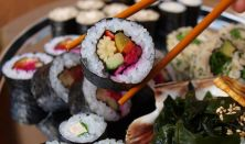 FŐZŐTANFOLYAM: Kezdő Vegán Sushi tanfolyam Kiss Gáborral