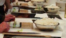 Kezdő Sushi tanfolyam Kiss Gáborral