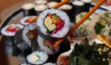 Kezdő Vegán Sushi tanfolyam Kiss Gáborral