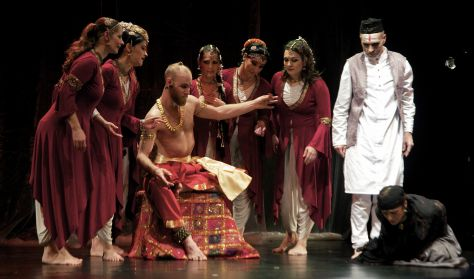 Sakuntalá - Bharatanátjam-Sivasakti Kalánanda Táncszínház, Somi Panni Társulata
