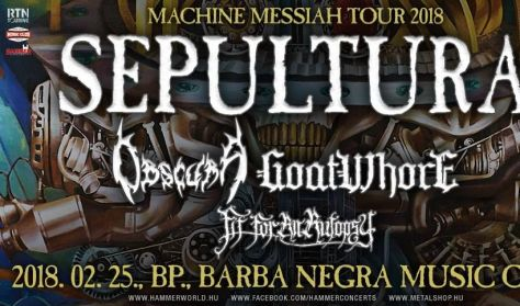 SEPULTURA | Obscura | Goatwhore | Fit For An Autopsy