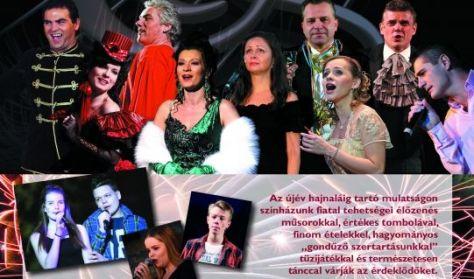 Zenés szilveszteri show országosan ismert sztárokkal