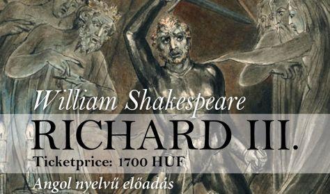 III. Richárd-Angol nyelvű előadás