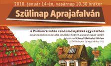 Szülinap Aprajafalván - zenés mesejáték