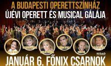 A Budapesti Operettszínház Újévi Operett és Musical Gálája