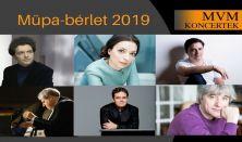 MVM Koncertek - A Zongora - Müpa-bérlet: Avdeeva, Balázs J., Sokolov, Ránki, Kissin, Volodos